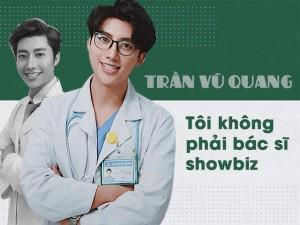 """Bà bầu - """"Bác sĩ nam thần"""" Vũ Quang: """"Tôi không tìm kiếm tên tuổi, chỉ vỏn vẹn là một BS sản khoa"""""""