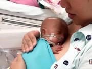 Hành trình sống kỳ diệu của em bé Sài Gòn sinh non lúc 6 tháng nặng chỉ 6 lạng