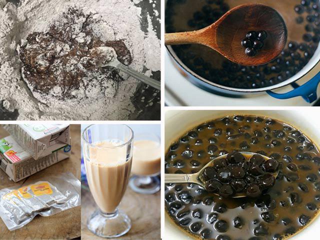 Cách làm trà sữa trân châu tại nhà thơm ngon không kém ngoài hàng