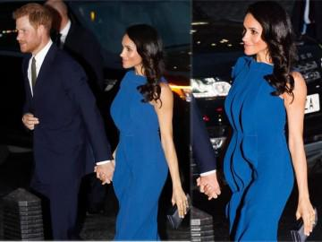 Công nương Anh khiến cả nước xôn xao vì lộ vòng 2 to bất thường khi diện váy bó