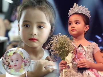 """Xưa vừa """"trọc"""" vừa còi, 5 năm sau bé gái Hà Nội thành Hoa hậu nhí Việt Nam đầu tiên"""