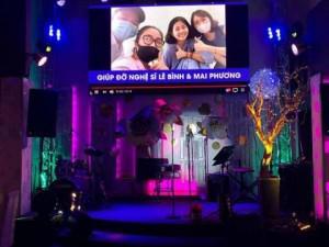 Phùng Ngọc Huy xuất hiện và hát giữa đêm nhạc quyên góp ủng hộ Mai Phương