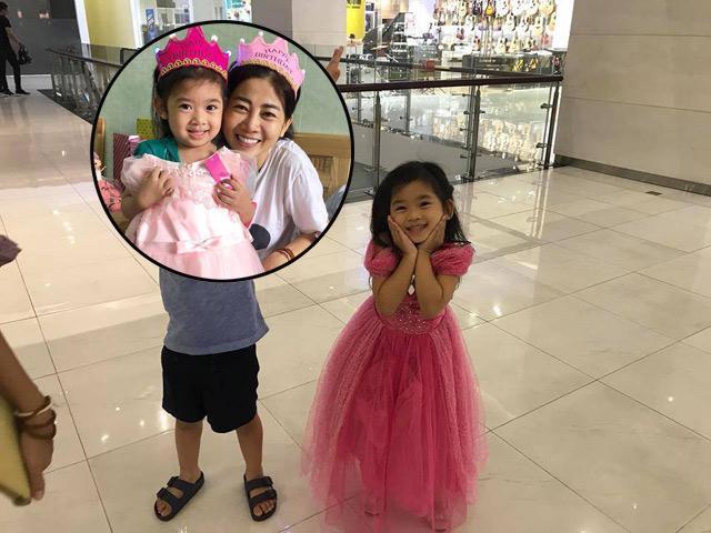 Nụ cười tươi rói của con gái Mai Phương sau khi mẹ được xuất viện