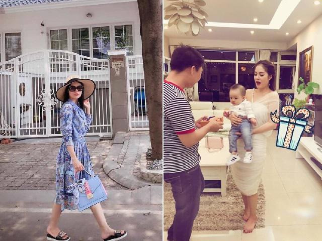 Trước khi ly hôn, Dương Cẩm Lynh từng sống trong biệt phủ 200m2 xa hoa thế này!