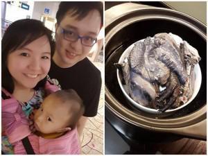 Mẹ Singapore chỉ cách nấu súp gà đen trị ốm cho bé trong những ngày gió mùa sắp về