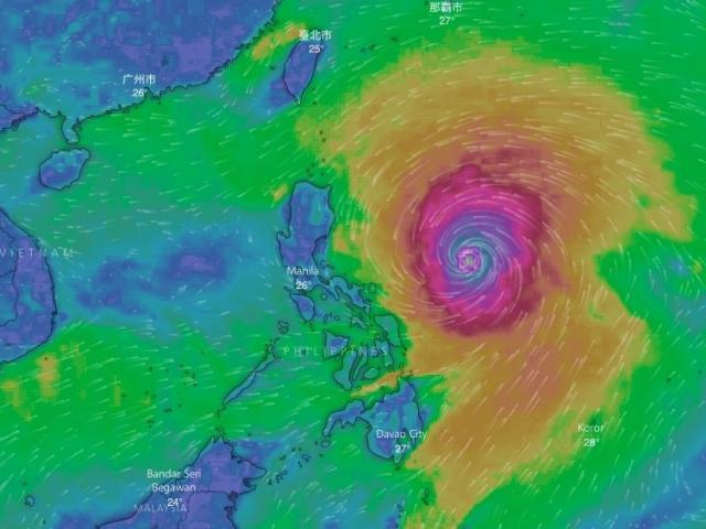 Siêu bão Mangkhut mạnh khủng khiếp, có thể ảnh hưởng trực tiếp 27 tỉnh thành nước ta