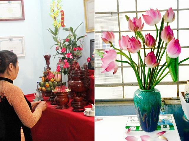 6 loại hoa đặt bàn thờ thu hút tài khí, tiền vào ào ào