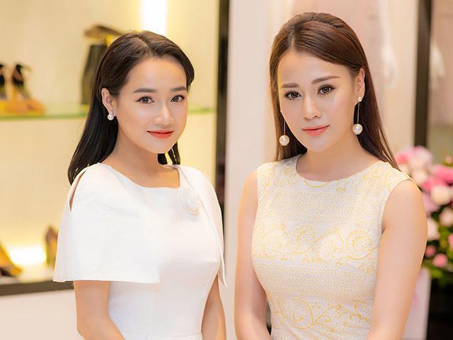 Quỳnh Búp Bê nổi bật, đẹp lấn át Nhã Phương tại sự kiện diễn ra ở Hà Nội