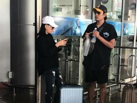 Sáng nói yêu An Nguy, chiều Kiều Minh Tuấn đã ra sân bay đi xả stress cùng Cát Phượng
