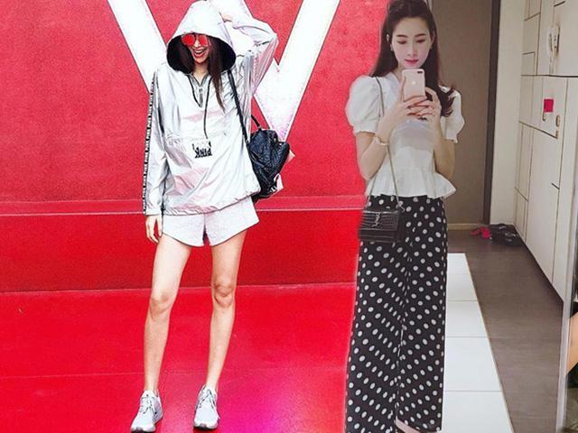 Đều có khuyết điểm ở chân nhưng không ai biết vì Phạm Hương, Thu Thảo mặc đồ rất khéo