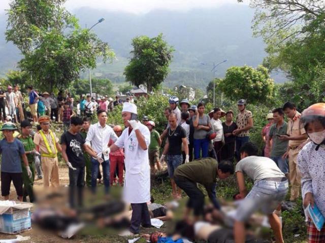 Tai nạn giao thông ở Lai Châu: Xe bồn mất phanh đâm xe khách, 11 người chết tại chỗ