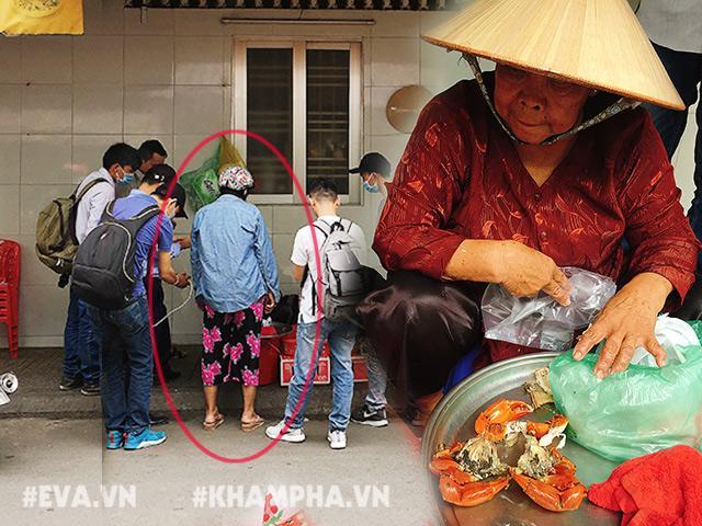 Lại xuất hiện người phụ nữ mang 3 con cua 919.000 kêu bị ốp, dì Ba trực tiếp đền tiền
