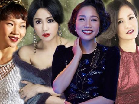Nhìn lại nhan sắc bộ tứ diva Việt mới nhận ra thời gian có khi cũng tàn nhẫn đến thế!