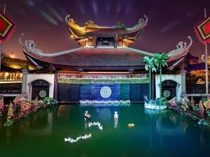 Đón Trung Thu dân gian nơi không gian văn hóa và ẩm thực Việt bên bờ sông Hồng