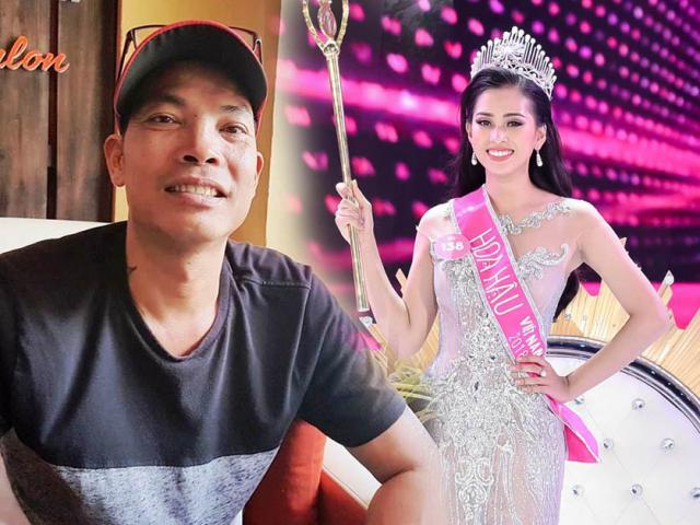 Bố Hoa hậu Trần Tiểu Vy tâm sự những chuyện cảm động về con gái