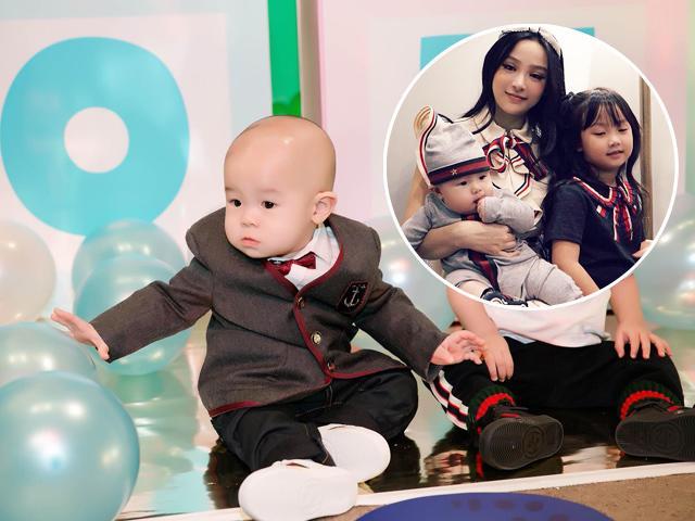 Mới 1 tuổi nhưng con trai Huyền Baby mặc toàn đồ hiệu, cả cây có giá gần 25 triệu đồng
