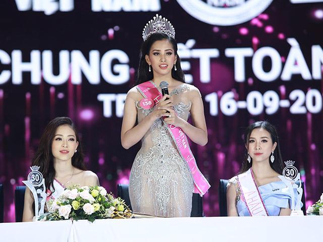 Hoa hậu Tiểu Vy: Đi thi ba mẹ không tốn tiền nhiều vì mượn đồ của BTC
