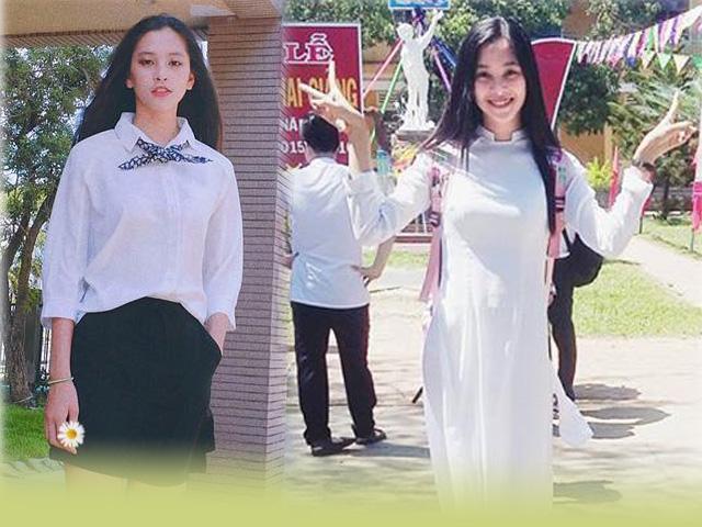 Bằng chứng cho thấy, Hoa hậu Tiểu Vy chính là nữ thần đồng phục