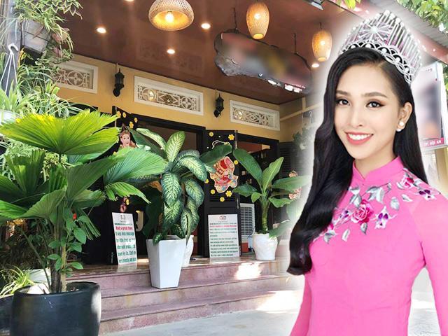 Cận cảnh căn nhà mộc mạc đầy cây xanh ở Hội An của tân Hoa hậu Trần Tiểu Vy