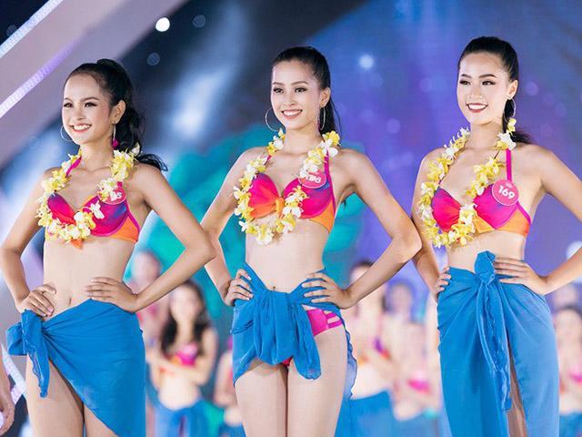 Nhìn Hoa hậu Tiểu Vy mặc bikini, đã hiểu vì sao cô lọt vào top 3 Người đẹp biển