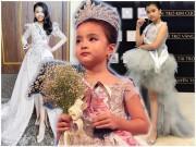 Làm mẹ - 3 bé gái xuất sắc được vinh danh Hoa hậu nhí, nổi nhất thời gian qua