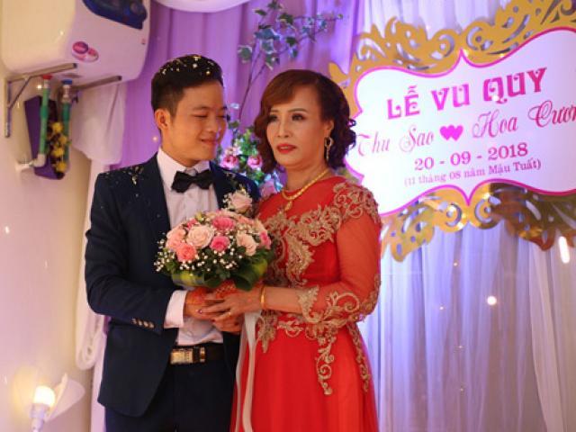 Cận cảnh đám cưới có 1-0-2 của cô dâu 62 tuổi lấy chồng 26 tuổi ở Cao Bằng