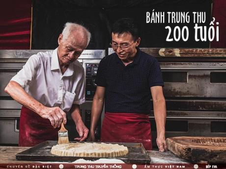 """""""Chất liệu bí ẩn"""" trong chiếc bánh Trung thu của  gia tộc hơn 100 năm giữ hương vị truyền thống"""