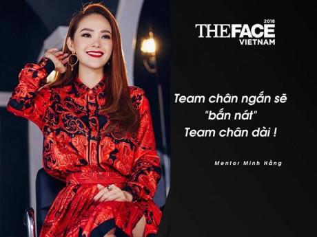 The Face Việt Nam: Minh Hằng chân ngắn, đòi bắn nát team chân dài
