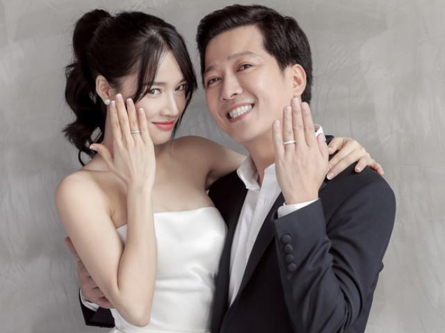 Trọn bộ ảnh cưới tuyệt đẹp của Trường Giang - Nhã Phương: Có 1 chi tiết ai cũng bật cười