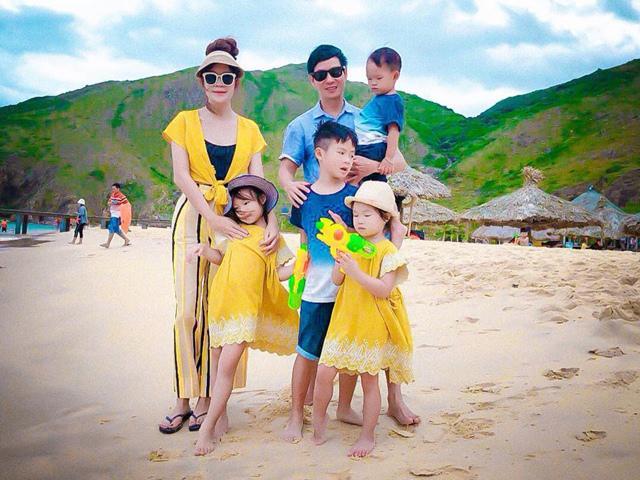 Vợ chồng Lý Hải và 4 con check-in thiên đường biển đảo đẹp quên lối về của Quy Nhơn