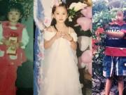Giải trí - Hình ảnh đáng yêu thuở thơ ấu của Hoa hậu, Á hậu Việt Nam 2018