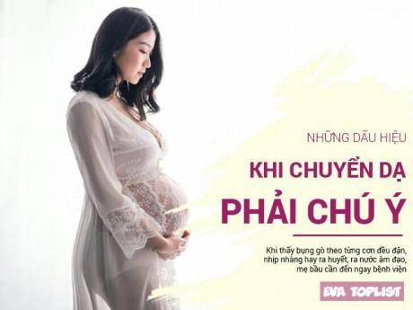 Top những dấu hiệu chuyển dạ bà bầu lần đầu làm mẹ nhất định phải chú ý