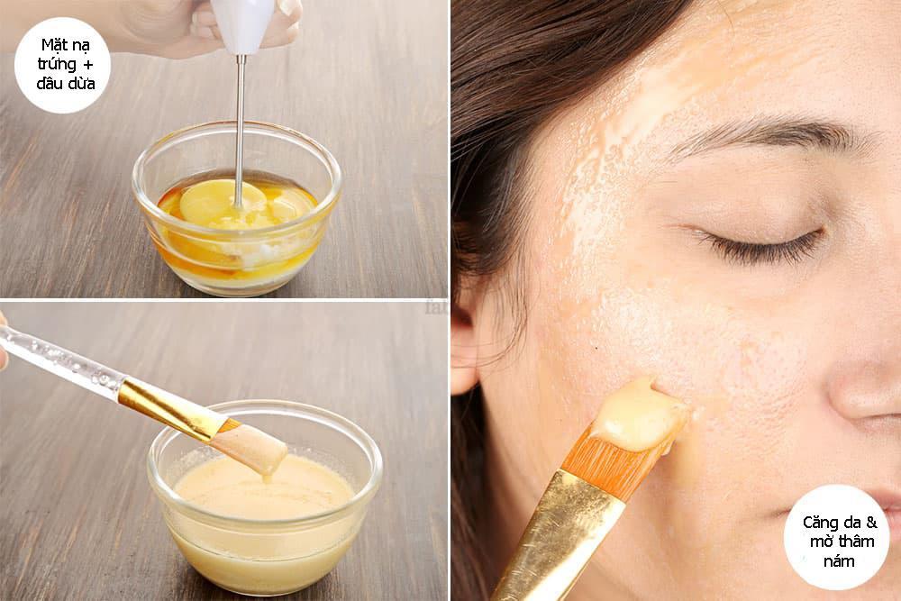 Cách làm mặt nạ dầu dừa chống lão hóa hiệu quả không thua gì mỹ phẩm đắt tiền - 8
