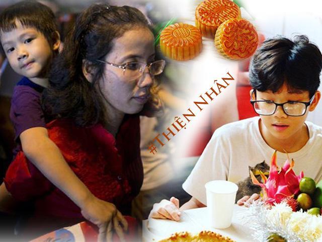 Người mẹ nuôi và những mùa Trung thu cùng Thiện Nhân, luôn bắt đầu bằng chiếc bánh truyền thống