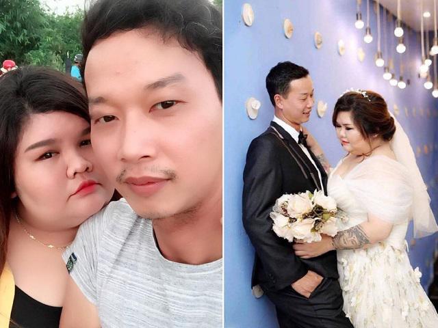 Cô nàng mũm mĩm hạnh phúc khoe chồng tâm lý kỳ lạ: Vỗ béo từ 90kg lên 120kg mới cưới