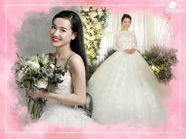 Váy cưới Nhã Phương, Tăng Thanh Hà, Thu Thảo và những cái nhất đầy bất ngờ