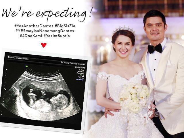 Mỹ nhân đẹp nhất Philippines khoe ảnh siêu âm đang mang bầu con thứ hai