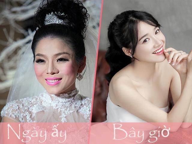 Nhìn Nhã Phương và các sao Việt ngày trước bạn sẽ thấy sự khác biệt trong cách trang điểm