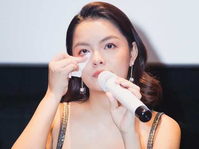 Hậu tin đồn ly hôn, Phạm Quỳnh Anh bật khóc mong dư luận để các con mình được yên