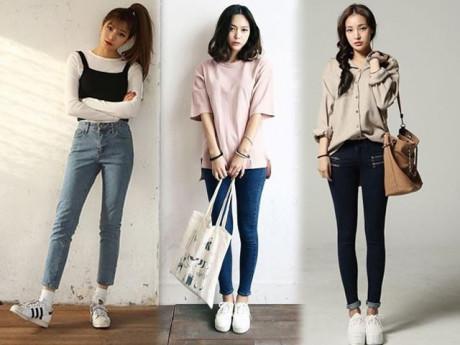 Tuyệt chiêu ít người biết khi chọn quần jeans giúp đùi to, bụng mỡ, chân cong cũng giấu được!