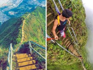 Liệu cho tiền bạn có dám leo lên những chiếc cầu thang như thế này không?