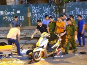 Thông tin mới nhất vụ mẹ đơn thân tử vong do thanh sắt rơi trúng trên đường Lê Văn Lương