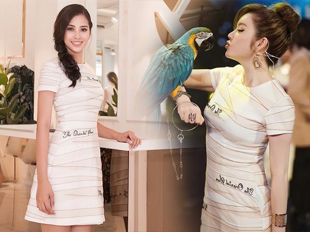 Đụng hàng liên hoàn với đàn chị, Hoa hậu 18 tuổi Trần Tiểu Vy sẽ ra sao?