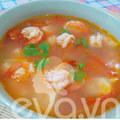 Bếp Eva - Canh tôm, đậu phụ đơn giản mà ngon