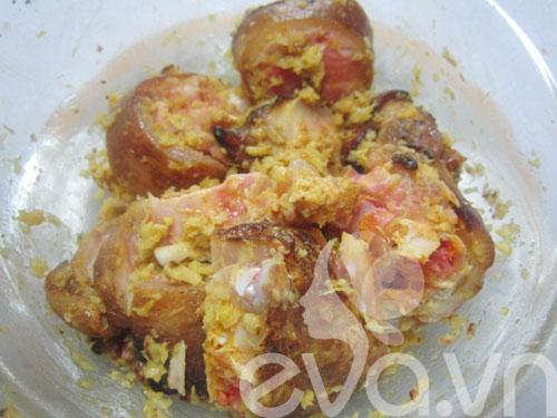 Móng giò nấu giả cầy ngày lạnh - 3