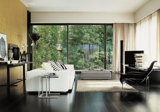 Ghế sofa rất nổi bật trong các đồ nội thất phòng khách. Điều này dễ dàng  nhận thấy bởi không gian chiếm giữ trong phòng khách của nó.