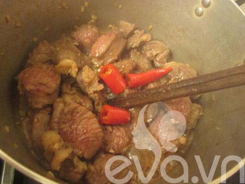 Bài dự thi: Thịt bò kho tàu - 4