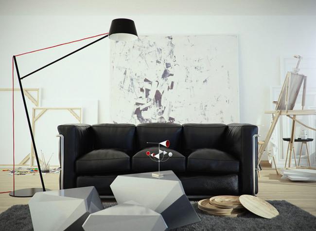 Bạn vừa thích nhà mình theo phong cách cổ điển, lại cũng thích theo kiểu hiện đại, phải làm sao đây?