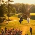 Tin tức - Đám cưới độc: Đu dây vào lễ đường