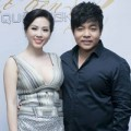 HH Thu Hoài gợi cảm bên cạnh Quang Lê